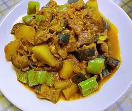 印度咖喱土豆茄子的做法