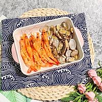 #一人一道拿手菜# 蒜蓉烤花蛤虾的做法图解11