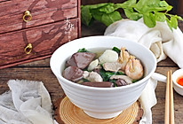 #520,美食撩动TA的心!#猪血汤早餐的做法