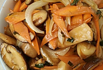 香菇炒鱼丸的做法