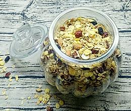 自制香脆营养燕麦片的做法