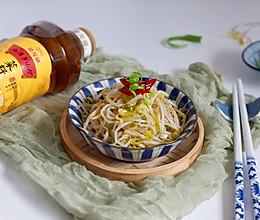 葱油豆芽#金龙鱼外婆乡小榨菜籽油 外婆的时光机#的做法