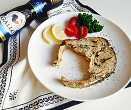 柠檬百里香煎鳕鱼#Gallo橄露橄榄油#的做法