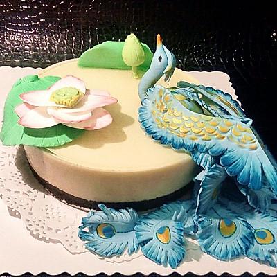 凤凰传奇--翻糖慕斯蛋糕