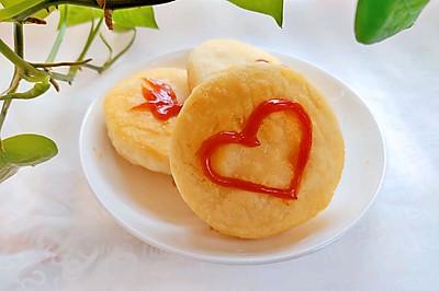 新式吃法番茄沙司糯米饼