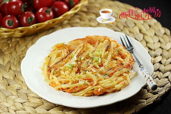 胡萝卜土豆丝饼的做法