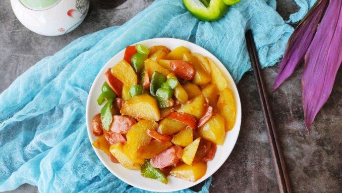 #肉食者联盟#青椒炒土豆!比肉还好吃!