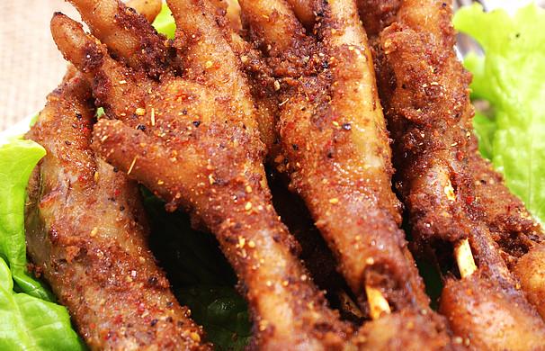 【香烤凤爪】---鸡爪的上档升级吃法