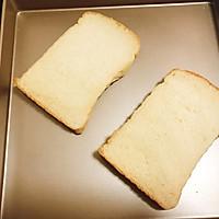 火燒雲吐司 寶寶喜歡的簡單快手早餐麵包片的做法圖解3