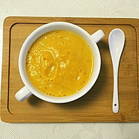 美味健康低脂的南瓜牛奶浓汤的做法图解3
