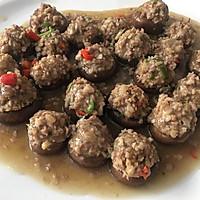 宫煲仙菇肉