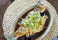 #新春美味菜肴#家宴必备清蒸鲈鱼 蒸蒸日上的做法