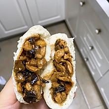 鸡肉香菇包子太美味了哟!快来跟我一起做吧!