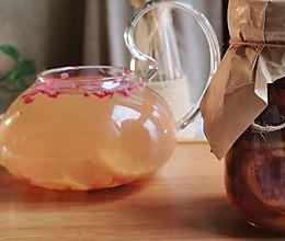 玫瑰柠檬酿的做法