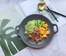 #秋天怎么吃#金枪鱼蔬菜水果沙拉的做法