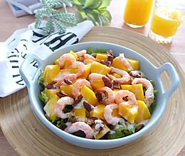 芒果北极虾沙拉的做法