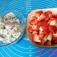 草莓千层可丽饼的做法图解1