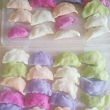 五彩蔬果饺子