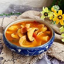 #快手又营养,我家的冬日必备菜品#冬日暖阳的蘑菇汤
