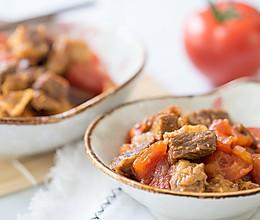 电饭锅番茄牛腩煲的做法