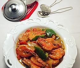 椰香咖喱虾——雄鷄標™椰浆的做法