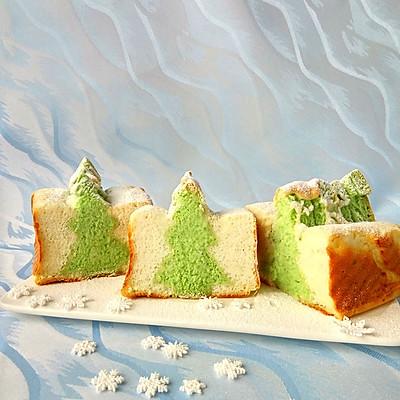 落雪圣诞树吐司面包