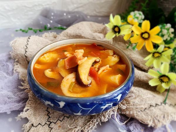 冬日暖阳的蘑菇汤的做法