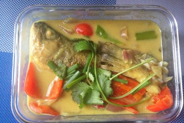 咖喱鲈鱼的做法