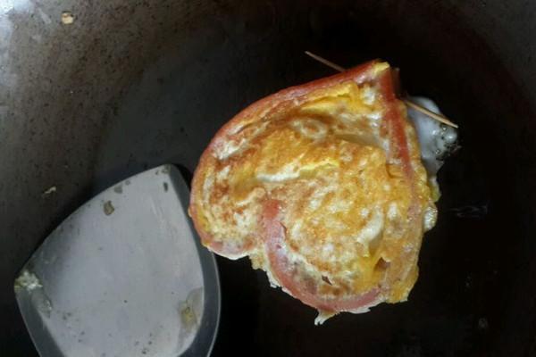 爱心鸡蛋的做法