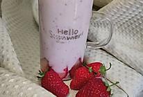 草莓慕斯(低卡无淡奶油版)的做法