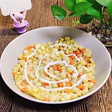 #橄榄中国味 感恩添美味#黄金玉米烙