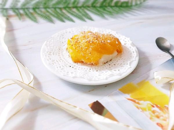 黄桃糯米椰汁糕