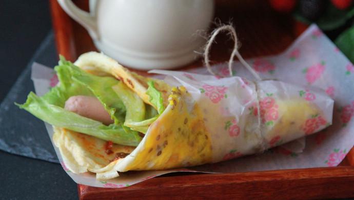 ——鸡蛋煎饼-快速营养早餐