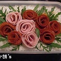 可以吃的玫瑰花园【玫瑰园便当】零厨艺也能做的做法图解9