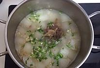 清炖牛尾骨萝卜汤的做法