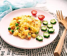 蔬菜土豆泥 快手低脂的做法