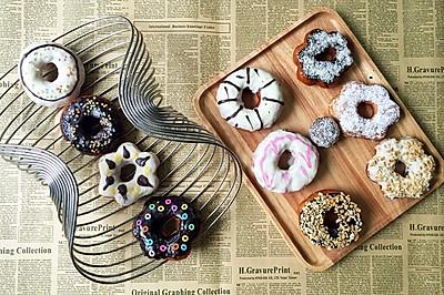 给人惊喜的donuts/甜甜圈