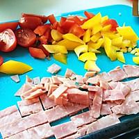 【早起20分钟的简单早餐】超级香浓多汁至尊披^两烤盘的量的做法图解1