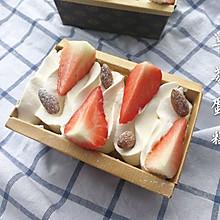 草莓蛋糕盒子#草莓季#