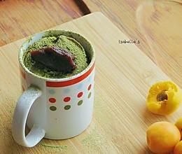 【微波炉系列】马克杯抹茶蛋糕的做法