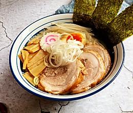 日式豚骨叉烧拉面(附叉烧、糖心蛋的做法)的做法