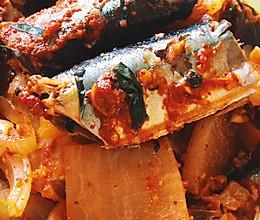 韩式 熬秋刀鱼的做法
