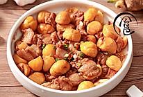 「回家菜谱」——板栗烧肉的做法