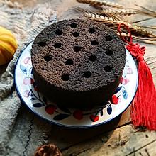 #钟于经典传统味#蜂窝煤蛋糕,吃了赶走一年的霉运
