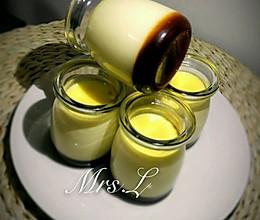 法式香草布丁焦糖布丁无奶油版的做法
