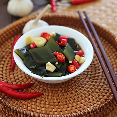超下饭!家常海带配饭小菜!