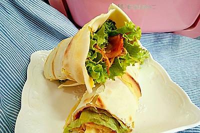 鸡蛋灌饼#利仁火锅节#