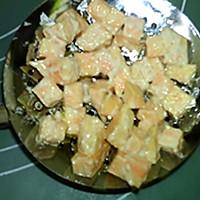 #味达美名厨福气汁,新春添口福# 红薯饼的做法图解6