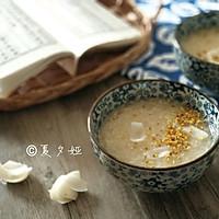古风桂花酿百合粥