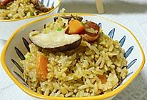 腊味什锦焖饭的做法